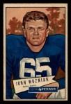 1952 Bowman Small #97  John Wozniak  Front Thumbnail