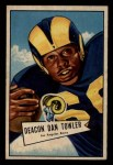 1952 Bowman Small #120  Dan Towler  Front Thumbnail