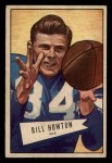 1952 Bowman Small #21  Bill BillyHowton  Front Thumbnail