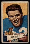 1952 Bowman Small #15  Leon Hart  Front Thumbnail