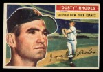1956 Topps #50  Dusty Rhodes  Front Thumbnail