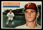 1956 Topps #174  Glen Gorbous  Front Thumbnail