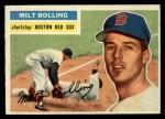 1956 Topps #315  Milt Bolling  Front Thumbnail