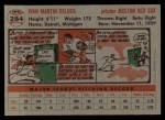 1956 Topps #284  Ike Delock  Back Thumbnail