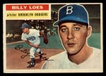 1956 Topps #270  Billy Loes  Front Thumbnail