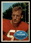 1960 Topps #52  Jim Taylor  Front Thumbnail