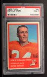 1963 Fleer #80  Don Donnie Stone  Front Thumbnail