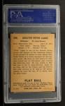 1940 Play Ball #206  Chet Laabs  Back Thumbnail