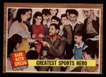 1962 Topps #143 NRM  -  Babe Ruth Greatest Sports Hero Front Thumbnail