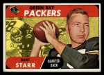 1968 Topps #1  Bart Starr  Front Thumbnail