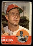 1963 Topps #283  Roy Sievers  Front Thumbnail