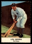1961 Golden Press #16  Lou Gehrig  Front Thumbnail