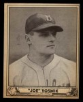 1940 Play Ball #144  Joe Vosmik  Front Thumbnail