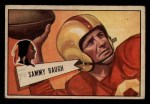 1952 Bowman Small #30  Sammy Baugh  Front Thumbnail