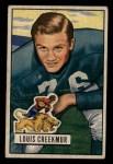 1951 Bowman #62  Lou Creekmur  Front Thumbnail
