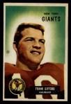 1955 Bowman #7  Frank Gifford  Front Thumbnail