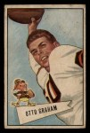 1952 Bowman Small #2  Otto Graham  Front Thumbnail