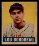 1949 Leaf #106  Lou Boudreau  Front Thumbnail
