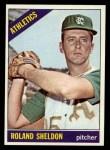 1966 Topps #18  Roland Sheldon  Front Thumbnail