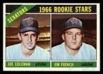 1966 Topps #333   -  Joe Coleman / Jim French Senators Rookies Front Thumbnail