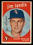 1959 Topps #493  Jim Landis  Front Thumbnail