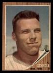 1962 Topps #102  Al Schroll  Front Thumbnail