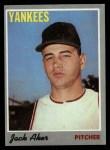 1970 Topps #43  Jack Aker  Front Thumbnail