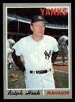 1970 Topps #273  Ralph Houk  Front Thumbnail