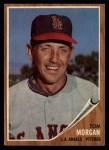 1962 Topps #11  Tom Morgan  Front Thumbnail