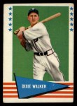 1961 Fleer #151  Dixie Walker  Front Thumbnail