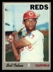 1970 Topps #409  Bobby Tolan  Front Thumbnail