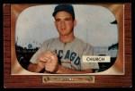 1955 Bowman #273  Bubba Church  Front Thumbnail