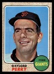 1968 Topps #85  Gaylord Perry  Front Thumbnail