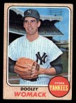 1968 Topps #431  Dooley Womack  Front Thumbnail