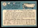 1965 Topps #511  Ron Locke  Back Thumbnail