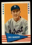 1961 Fleer #125  Fred Marberry  Front Thumbnail