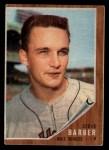 1962 Topps #355  Steve Barber  Front Thumbnail