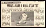 1964 Topps Giants #22  Dick Farrell   Back Thumbnail