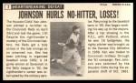 1964 Topps Giants #2  Ken Johnson   Back Thumbnail