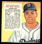 1955 Red Man #17 NL x Pee Wee Reese  Front Thumbnail