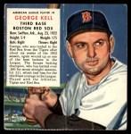 1953 Red Man #8 AL x George Kell  Front Thumbnail