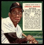 1954 Red Man #7 ALx Minnie Minoso  Front Thumbnail