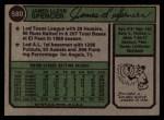 1974 Topps #580  Jim Spencer  Back Thumbnail