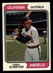 1974 Topps #594  Leroy Stanton  Front Thumbnail