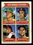 1974 Topps #602   -  Craig Swan / Glenn Abbott / Rick Henninger / Dan Vossler Rookie Pitchers    Front Thumbnail