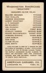 1922 E120 American Caramel  Tom Zachary  Back Thumbnail