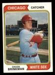 1974 Topps #641  Chuck Brinkman  Front Thumbnail