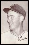 1947 Exhibits POR Bill Mazeroski   Front Thumbnail