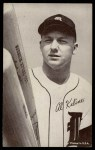 1962 Exhibit Stat Back  Al Kaline  Front Thumbnail