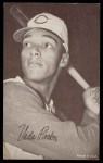 1962 Exhibit Stat Back #30  Vada Pinson  Front Thumbnail